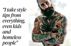 This 'homeless' style tip from a hipster model in the Sunday Times is just…