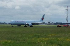 Passenger rushed to hospital after Air Canada jet in medical diversion to Shannon