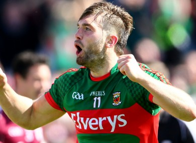 Aidan O'Shea was in fine form today for Mayo.
