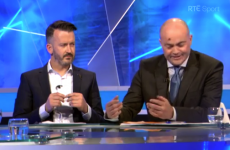 Anthony Daly was attacked by a fly on The Sunday Game last night