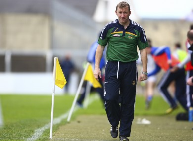 Brian Whelahan couldn't prevent a shock defeat for Offaly.