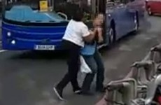 Police launch investigation after woman 'throttled' in street by bus driver