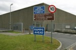 Prisoner spent two hours on roof of Cloverhill today after retrieving drugs