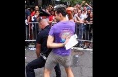 This cop danced his arse off at the Pride parade and now he's going viral
