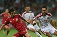 Scrappy Belarus-Spain game gets Silva lining and the rest of tonight's Euro 2016 qualifiers