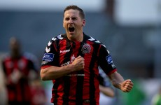 Ex-Hoops striker comes back to haunt his old club as Bohs claim derby bragging rights