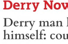 Derry Now might have just been responsible for the headline of the year