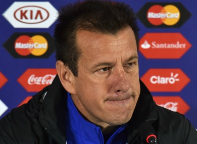 """Dunga: """"The way I expressed it does not reflect my feelings and opinions."""""""