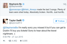 Taylor Swift just bought a fan tickets to her Dublin show and we're not jealous at all