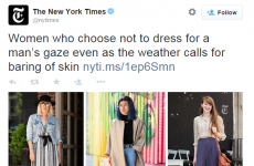 """Despicable and sexist"" – the New York Times is under fire for this headline"