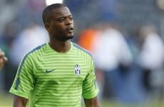 He may be in the Champions League final but Patrice Evra regrets leaving Man United