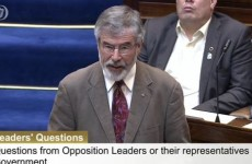 "Gerry Adams says there were ""serious conflicts of interest"" in Clerys sale"