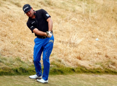 Graeme McDowell in action at the U.S. Open