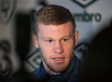 McClean hopes the game will pass off without incident.