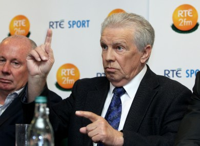 John Giles has analysed on RTÉ over the course of four decades.