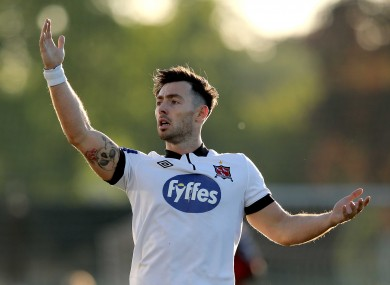 Richie Towell says he can't wait for the season to recommence.