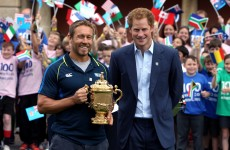No prizes for guessing who Jonny Wilkinson reckons will win the World Cup