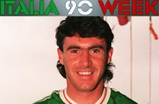 'I was more nervous in training than in games' — Alan McLoughlin on Italia 90