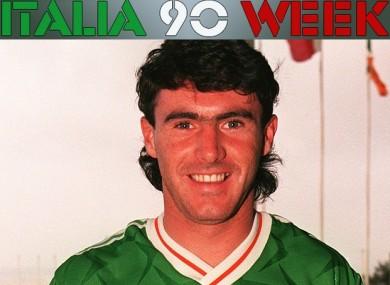 Alan McLoughlin arrives at the Ireland team hotel in Malta.