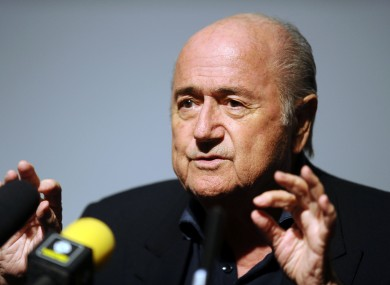 Blatter has vehemently denied all allegations of corruption.