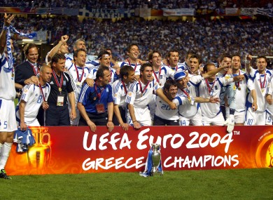 Happier times for Greece and the Euro(s).
