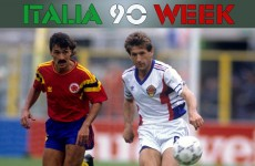 A definitive ranking of the 10 best jerseys at Italia 90