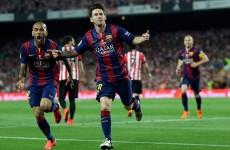 Slimline Lionel Messi back on top of the world