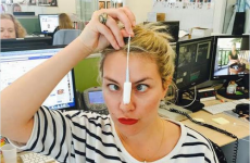 Here's why people on Twitter are sharing photos of themselves with tampons