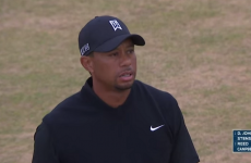 This one, grim shot tells you everything you need to know about Tiger's US Open round