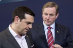 Kenny urges Greece to return to negotiations as Tsipras stands firm