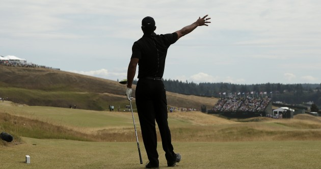 Tiger Woods had the nightmare round that everyone feared at the US Open