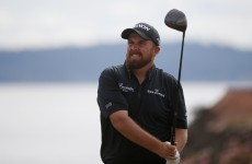Shane Lowry wore black all week at the US Open in tribute to Berkeley victims