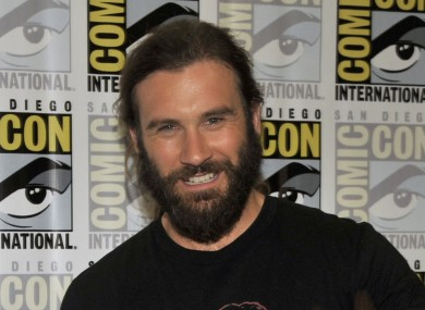 Vikings actor Clive Standen.