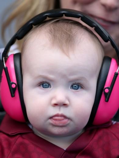 Rain, tears, silverware and babies with headphones – the GAA weekend in pictures
