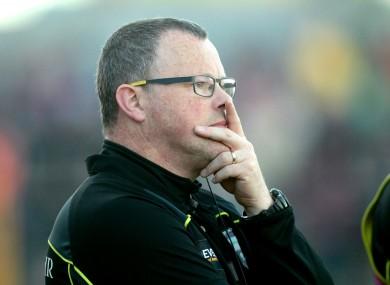 Sligo boss Aidan Rooney has shuffled his pack.