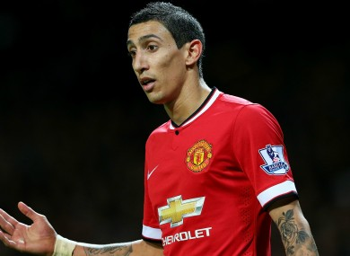 Paris Saint-Germain target Angel di Maria