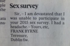The biggest Dad joke ever appears in today's Irish Times letter pages