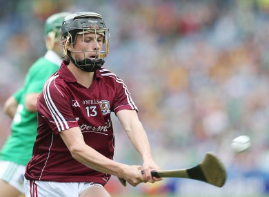 Brian Molloy hit 1-4 for Galway.