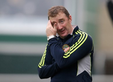 Brian Whelahan has decided against another year in charge of Offaly.