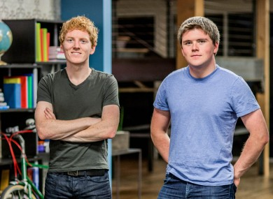 Stripe's Patrick and John Collison