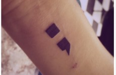 Here's why people around the world are getting semicolon tattoos to inspire others