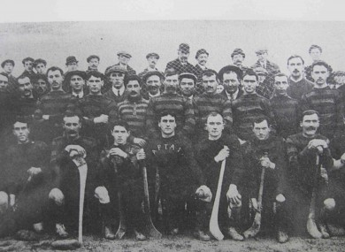 The Limerick team of 1911 - four years before the infamous battle with Cork in Thurles.