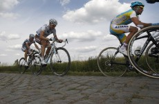How many slices of pizza could a Tour De France cyclist eat per day?