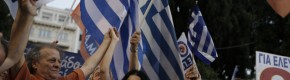 First official projections put Greek 'No' victory at over 60%
