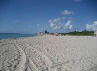 Haulover Beach in Miami