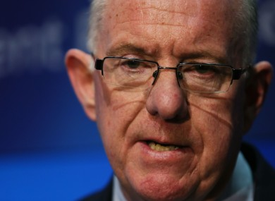 Minister for Foreign Affairs Charlie Flanagan
