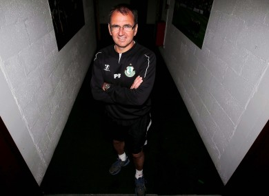 Pat Fenlon spoke to the media at Tallaght Stadium this afternoon.
