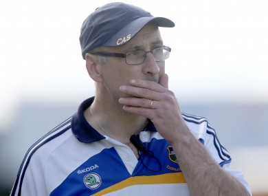 Peter Creedon says it must be football only if the Tipperary senior team is to progress.