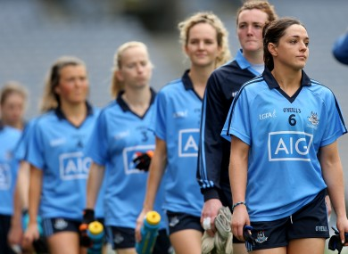 Good day for the Dublin ladies footballers today.