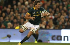 Etzebeth, Folau and Pollard to play in Japan after the World Cup